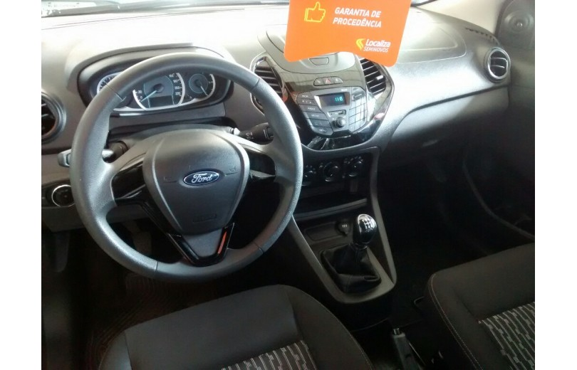 FORD KA MAIS 2018 1.5 SE 16V FLEX 4P MANUAL - Carango 66384 - Foto 6