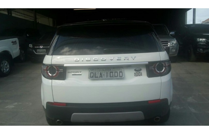 LAND ROVER DISCOVERY SPORT 2015 2.0 16V SI4 TURBO DIESEL HSE 7 LUGARES 4P AUTOMÁTICO - Carango 66397 - Foto 4