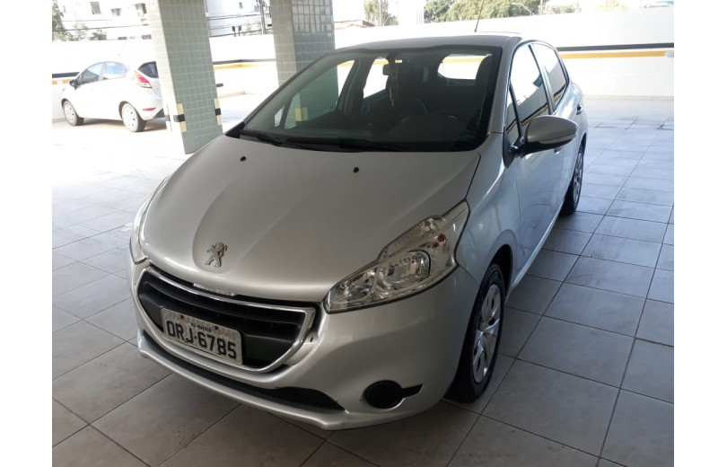 PEUGEOT 208 2014 1.5 ACTIVE 8V FLEX 4P MANUAL - Carango 66421 - Foto 1