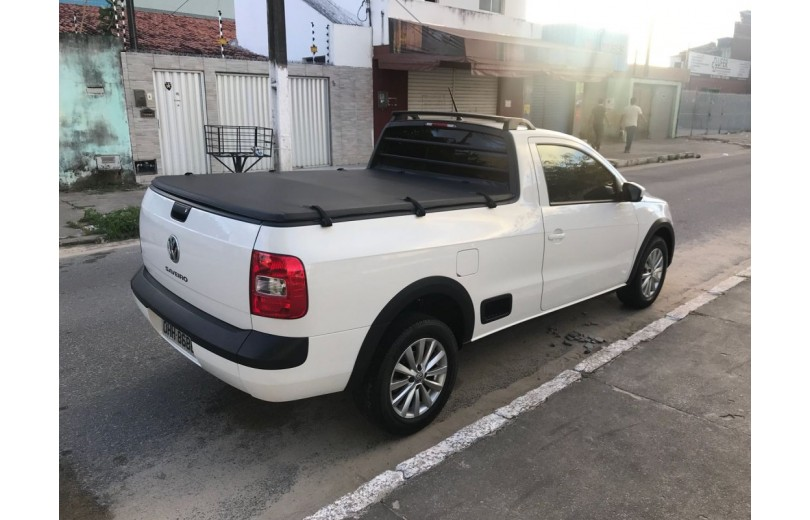 VOLKSWAGEN SAVEIRO 2016 1.6 TRENDLINE CS TOTAL FLEX 8V  MANUAL - Carango 66536 - Foto 3