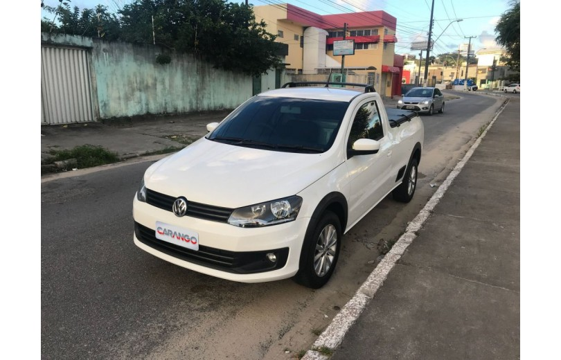 VOLKSWAGEN SAVEIRO 2016 1.6 TRENDLINE CS TOTAL FLEX 8V  MANUAL - Carango 66536 - Foto 1