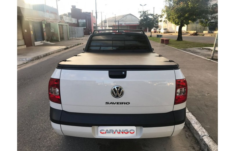 VOLKSWAGEN SAVEIRO 2016 1.6 TRENDLINE CS TOTAL FLEX 8V  MANUAL - Carango 66536 - Foto 4