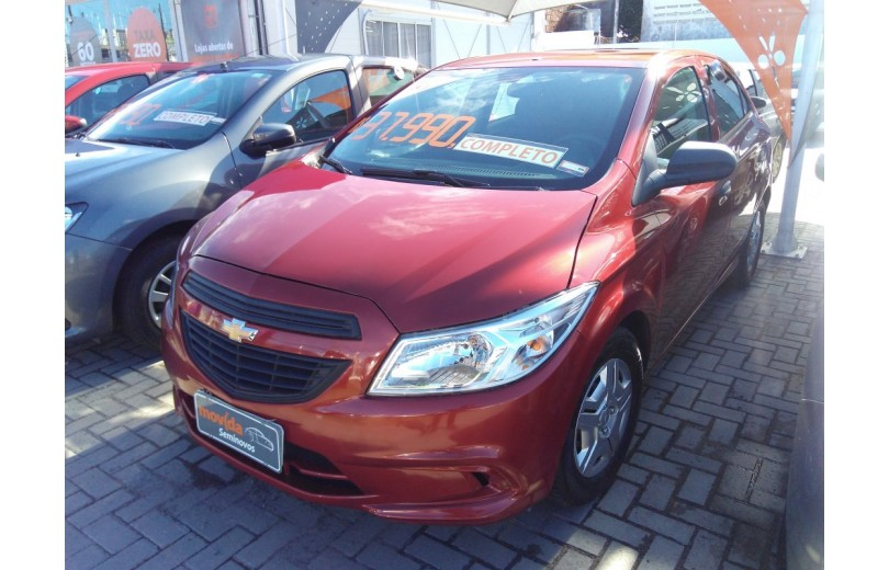 CHEVROLET ONIX 2018 1.0 MPFI JOY 8V FLEX 4P MANUAL - Carango 67602 - Foto 1