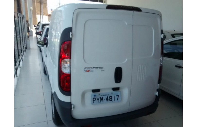 FIAT FIORINO 2017 1.4 MPFI FURGÃO HARD WORKING  8V FLEX 2P MANUAL - Carango 68017 - Foto 5