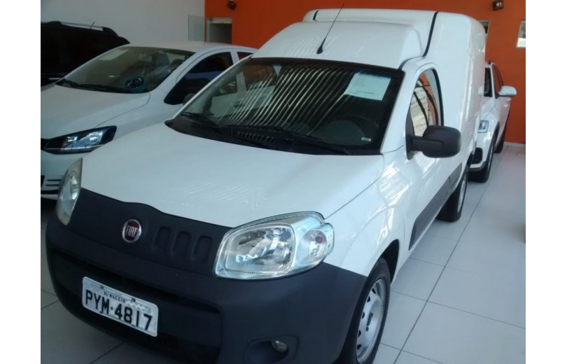FIAT FIORINO 2017 1.4 MPFI FURGÃO HARD WORKING  8V FLEX 2P MANUAL - Carango 68017 - Foto 1