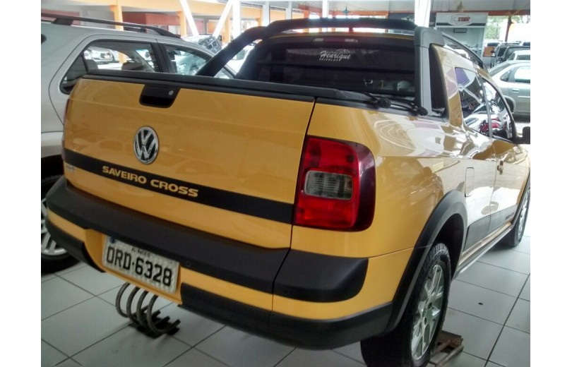 VOLKSWAGEN SAVEIRO 2015 1.6 CROSS CD 16V TOTAL FLEX 2P MANUAL - Carango 68184 - Foto 3