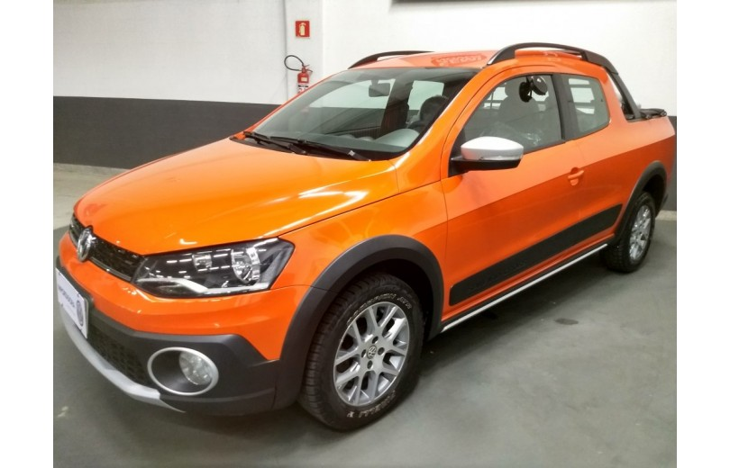 VOLKSWAGEN SAVEIRO 2016 1.6 CROSS CD 16V FLEX 2P MANUAL - Carango 68171 - Foto 1