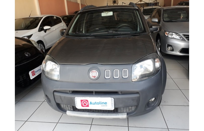 FIAT UNO 2013 1.0 WAY CELEBRATION 8V FLEX 4P MANUAL - Carango 69666 - Foto 2