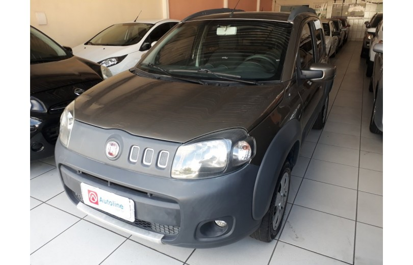 FIAT UNO 2013 1.0 WAY CELEBRATION 8V FLEX 4P MANUAL - Carango 69666 - Foto 1