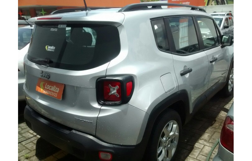 JEEP RENEGADE 2018 1.8 16V FLEX SPORT 4P MANUAL - Carango 69636 - Foto 3