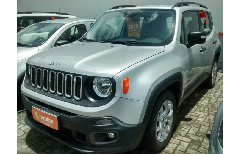 JEEP RENEGADE 2018 1.8 16V FLEX SPORT 4P MANUAL - Carango 69636 - Foto 1